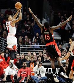 Derrick Rose jump shot