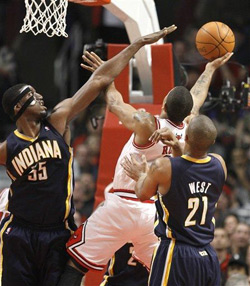Rose vs Pacers