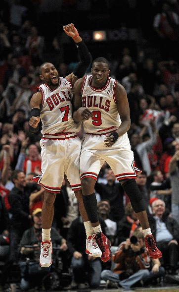 CJ and Deng celebrate
