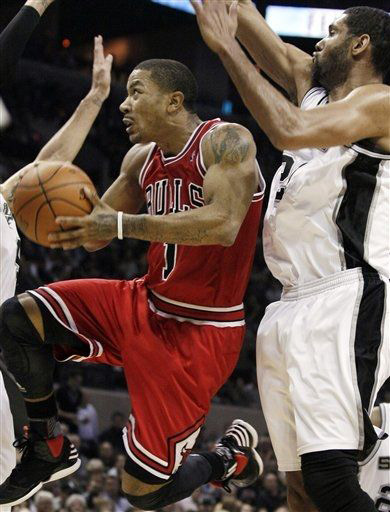 Rose vs Spurs