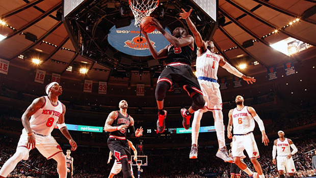 Luol Deng vs Knicks