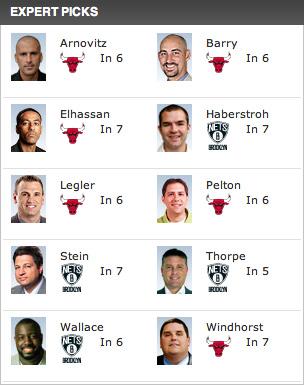 ブルズ対ネッツ ESPN予想