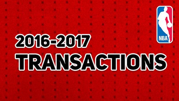 NBA 契約・トレード情報まとめ 2016-17