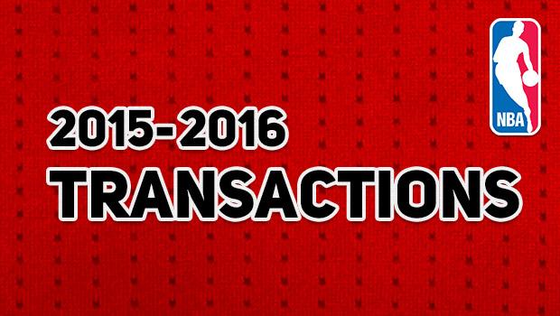 NBA 契約・トレード情報まとめ 2015-16