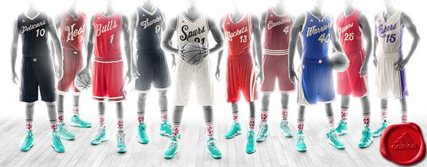 NBAクリスマス ユニフォーム 2015