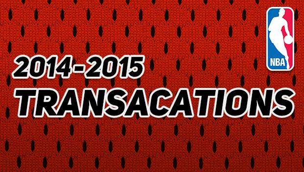 NBA 契約・トレード情報まとめ 2014-15